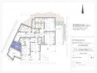 Villa Leticia in Mykonos Greece, blueprint, by Olive Villa Rentals