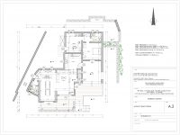 Villa Leticia in Mykonos Greece, blueprint 2, by Olive Villa Rentals