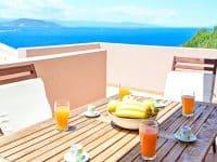 Villa Calypso in Aegina, balcony, by Olive Villa Rentals