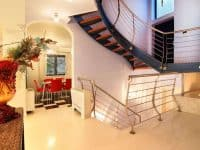 Villa Beverly in Athens Greece, stairway 2, by Olive Villa Rentals
