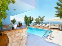 Villa Beverly in Athens Greece, pool 6, by Olive Villa Rentals