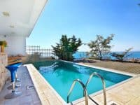 Villa Beverly in Athens Greece, pool 7, by Olive Villa Rentals