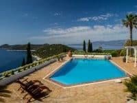 Villa Miltiades in Athens Greece, pool, by Olive Villa Rentals