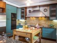 Villa Miltiades in Athens Greece, kitchen, by Olive Villa Rentals