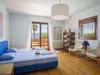 Villa Miltiades in Athens Greece, bedroom, by Olive Villa Rentals