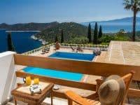 Villa Miltiades in Athens Greece, pool 3, by Olive Villa Rentals