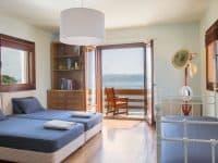 Villa Miltiades in Athens Greece, bedroom 2, by Olive Villa Rentals