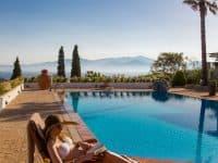 Villa Miltiades in Athens Greece, pool 5, by Olive Villa Rentals