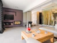 Villa Themis in Athens Greece, living room 4, by Olive Villa Rentals