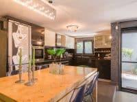Villa Themis in Athens Greece, kitchen, by Olive Villa Rentals