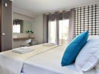 Villa Themis in Athens Greece, bedroom, by Olive Villa Rentals