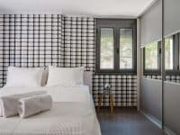Villa Themis in Athens Greece, bedroom 2, by Olive Villa Rentals
