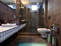 Villa Themis in Athens Greece, bathroom 2, by Olive Villa Rentals