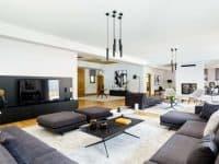 Olive Urban Estate in Athens Greece, living room, by Olive Villa Rentals