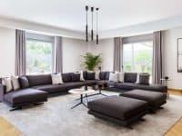 Olive Urban Estate in Athens Greece, living room 3, by Olive Villa Rentals