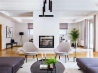 Olive Urban Estate in Athens Greece, living room 4, by Olive Villa Rentals