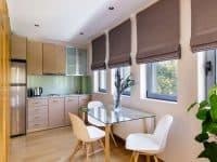 Olive Urban Estate in Athens Greece, kitchen 2, by Olive Villa Rentals