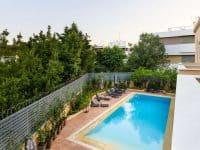 Olive Urban Estate in Athens Greece, pool 4, by Olive Villa Rentals