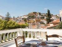 Villa Violet in Hydra Greece, balcony 3, by Olive Villa Rentals