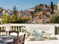 Villa Violet in Hydra Greece, balcony 4, by Olive Villa Rentals