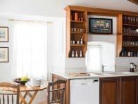 Villa Violet in Hydra Greece, kitchen, by Olive Villa Rentals