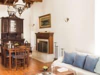 Villa Violet in Hydra Greece, living room 2, by Olive Villa Rentals