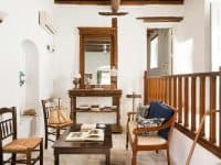 Villa Violet in Hydra Greece, living room 3, by Olive Villa Rentals