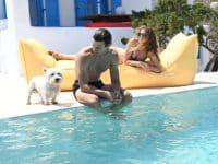 Villa Lavanda in Koufonisia Greece, pool, by Olive Villa Rentals