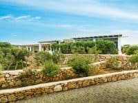 Villa Oliva in Koufonisia Greece, entrance, by Olive Villa Rentals