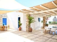 Koufonisia Greece, entrance, by Olive Villa Rentals
