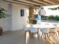 Koufonisia Greece, dining space, by Olive Villa Rentals