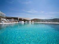 Villa Ariadne in Mykonos Greece, pool 2, by Olive Villa Rentals