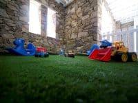 Villa Ariadne in Mykonos Greece, toy room, by Olive Villa Rentals