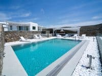 Villa Ariadne in Mykonos Greece, pool 3, by Olive Villa Rentals