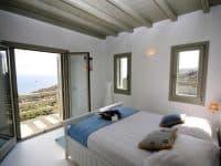 Villa Joy in Mykonos Greece, bedroom 2, by Olive Villa Rentals