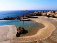 Villa Joy in Mykonos Greece, beach 2, by Olive Villa Rentals