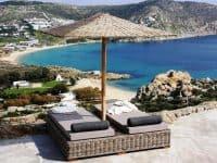 Villa Joy in Mykonos Greece, beach 3, by Olive Villa Rentals
