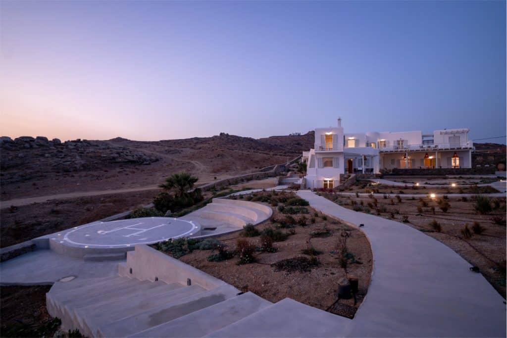 Villa Zoe in Mykonos Greece, house, by Olive Villa Rentals