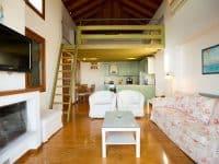 Villa Achilles in Pelion Greece, living room 2, by Olive Villa Rentals