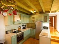 Villa Achilles in Pelion Greece, kitchen, by Olive Villa Rentals