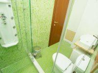 Villa Achilles in Pelion Greece, bathroom 2, by Olive Villa Rentals