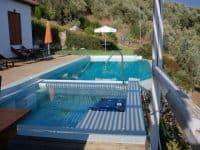 Villa Achilles in Pelion Greece, pool 4, by Olive Villa Rentals
