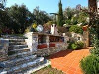 Villa Achilles in Pelion Greece, outside, by Olive Villa Rentals