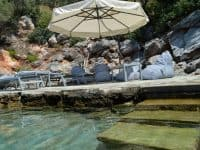 Villa Idyll in Pelion Greece, dock, by Olive Villa Rentals