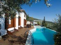 Villa Jason in Pelion Greece, pool 2, by Olive Villa Rentals