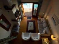 Villa Jason in Pelion Greece, living room, by Olive Villa Rentals