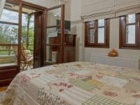 Milies House in Pelion Greece, bedroom, by Olive Villa Rentals