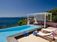 Villa Cybele in Skopelos Greece, pool 4, by Olive Villa Rentals