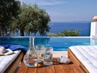 Pool Villa Selene in Skopelos Greece, pool 2, by Olive Villa Rentals