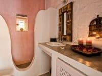 Pool Villa Selene in Skopelos Greece, bathroom 2, by Olive Villa Rentals